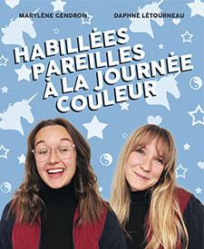 HABILLÉES PAREILLES À LA JOURNÉE COULEUR